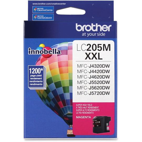 TINTA BROTHER LC205M LC205M COLOR MAGENTA