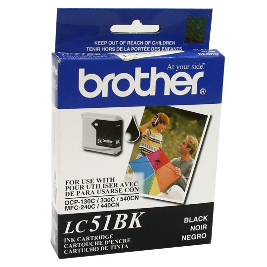 TINTA BROTHER LC51BK LC51BK COLOR NEGRO