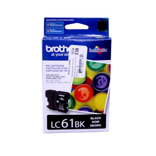 TINTA BROTHER LC61BK LC61BK COLOR NEGRO