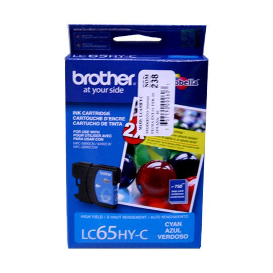 TINTA BROTHER LC65HYC LC65HYC COLOR CYAN