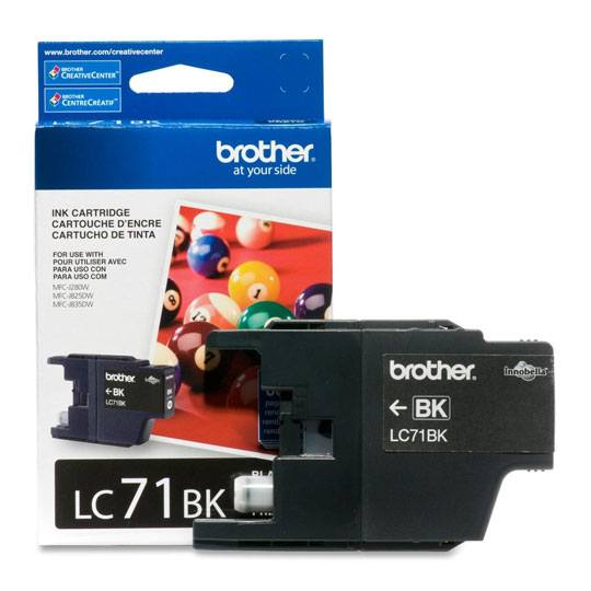 TINTA BROTHER LC71BK LC71BK COLOR NEGRO