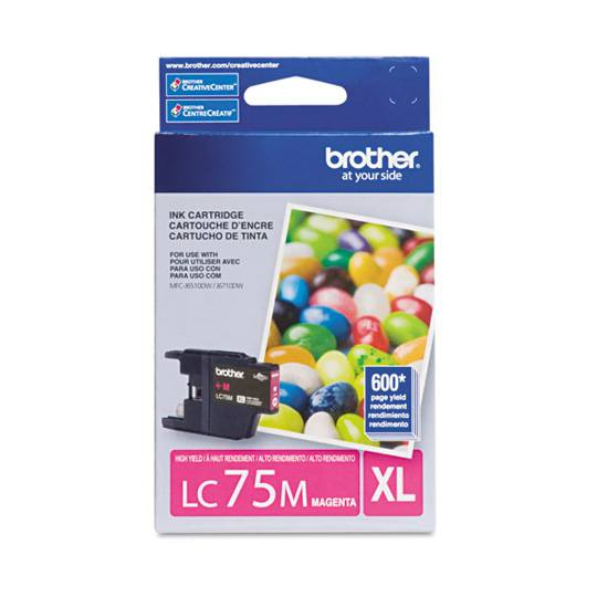 TINTA BROTHER LC75MXL LC75M COLOR MAGENTA