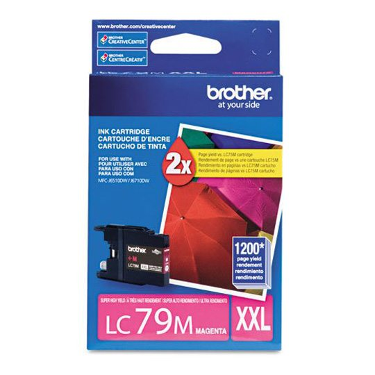 TINTA BROTHER LC79MXXL LC79M COLOR MAGENTA