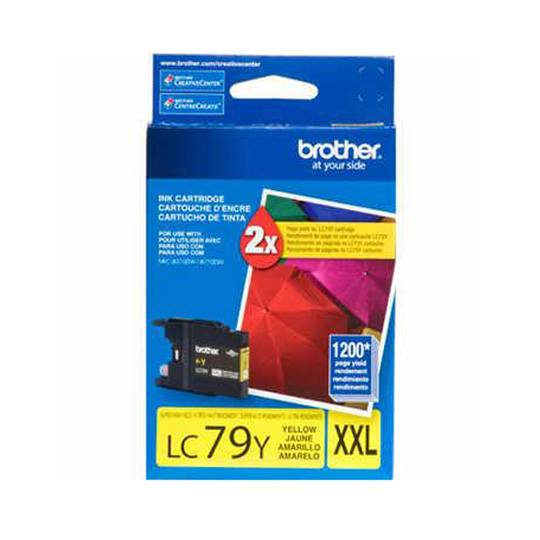 TINTA BROTHER LC79YXXL LC79Y COLOR AMARILLO