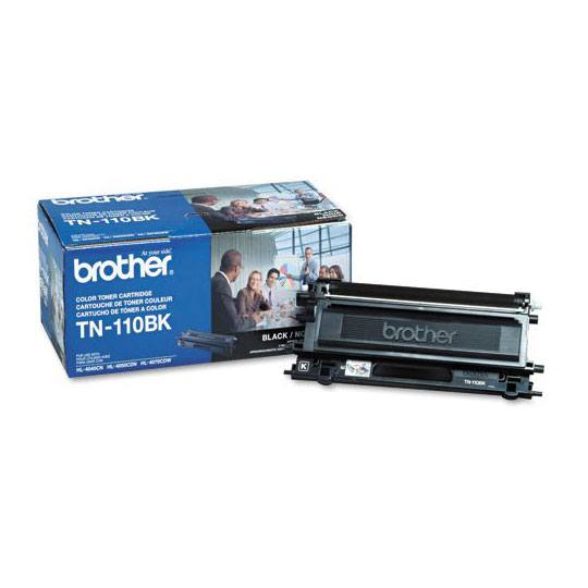 TONER BROTHER TN110BK TN110BK COLOR NEGRO