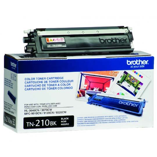 TONER BROTHER TN210BK TN210BK COLOR NEGRO