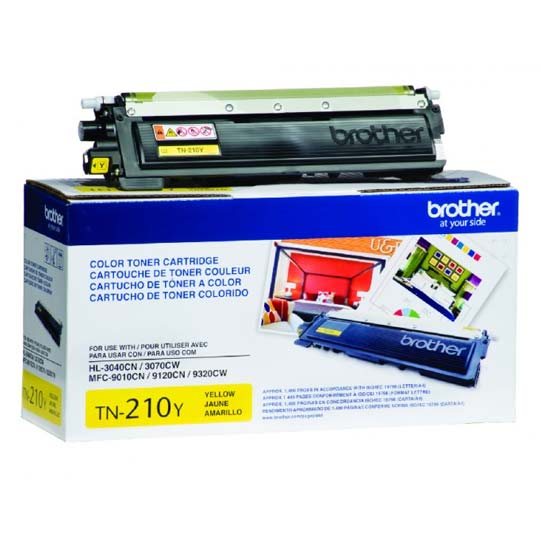 TONER BROTHER TN210Y TN210Y COLOR AMARILLO