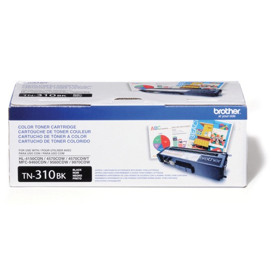TONER BROTHER TN310BK TN310BK COLOR NEGRO