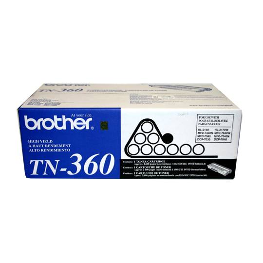TONER BROTHER TN360 TN360 COLOR NEGRO