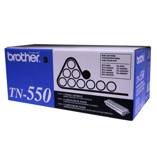 TONER BROTHER TN550 TN550 COLOR NEGRO
