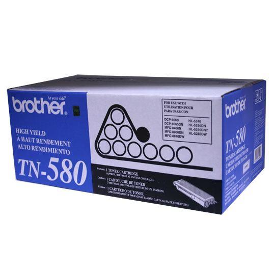 TONER BROTHER TN580 TN580 COLOR NEGRO