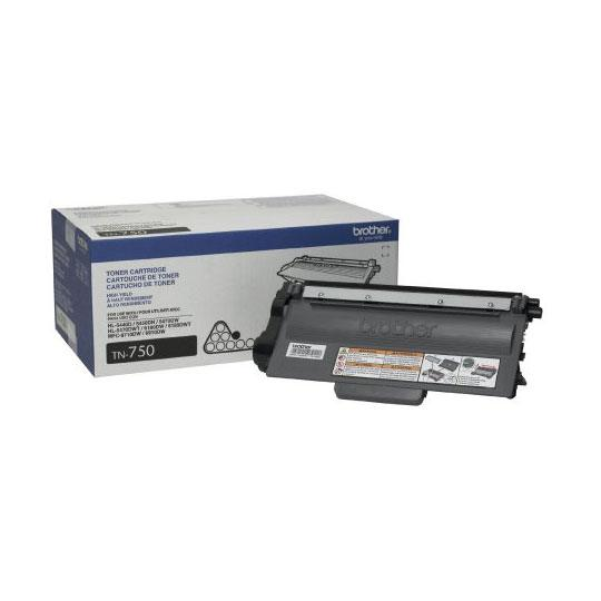 TONER BROTHER TN750 TN750 COLOR NEGRO