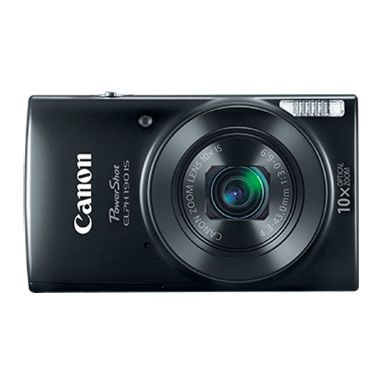 CAMARA DIGITAL CANON E190 20 MEGAPIXELES COLOR NEGRO