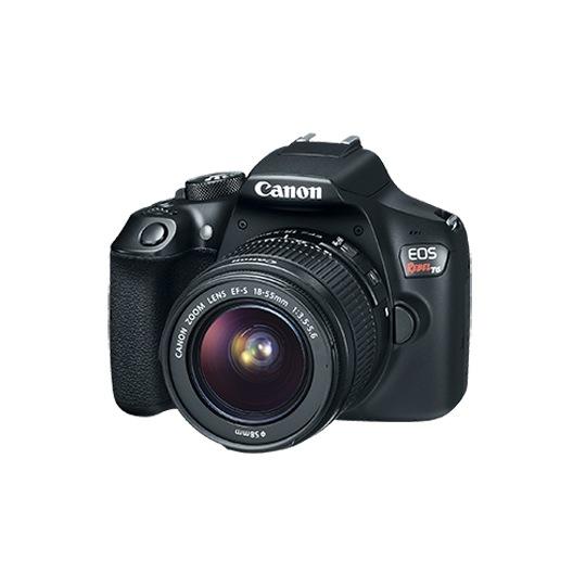 CAMARA REFLEX CANON EOS REBEL T6 18.0 MEGAPIXELES
