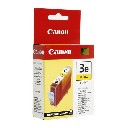 TINTA CANON BCI3EY BCI3EY COLOR AMARILLO