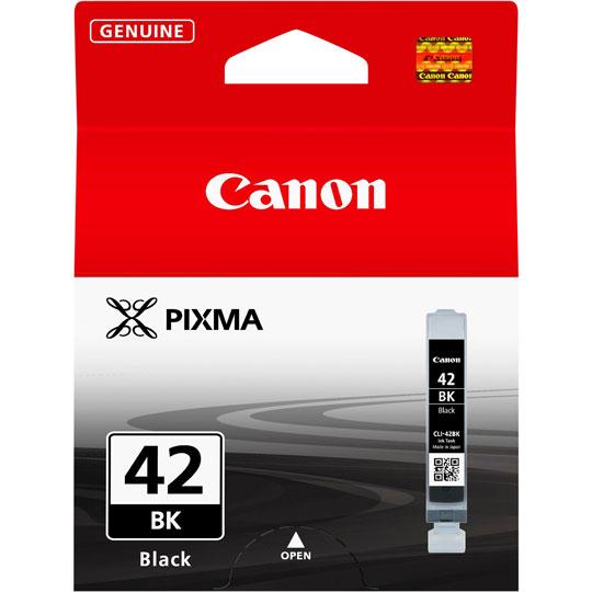 CARTUCHO DE TINTA CANON CLI-42BK 6384B009AA COLOR NEGRO