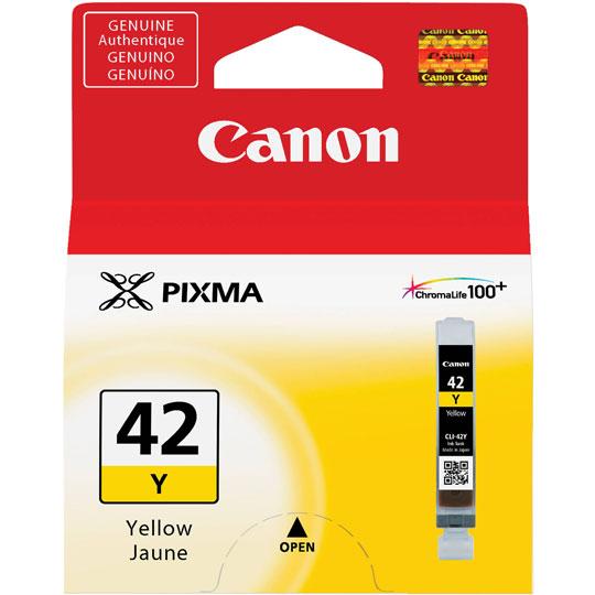 CARTUCHO DE TINTA CANON CLI-42Y 6387B009AA COLOR AMARILLO