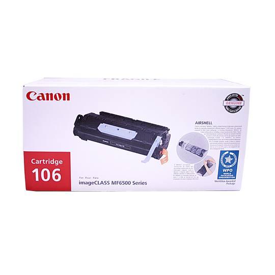 TONER CANON 106 0264B001AA COLOR NEGRO