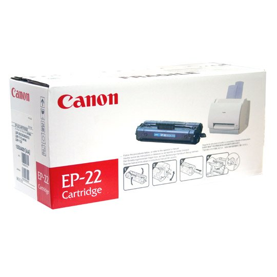 TONER CANON EP22 1550A001AA COLOR NEGRO