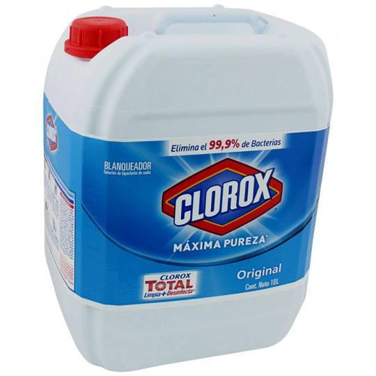 CLORO 10 L CLOROX 1 PZA