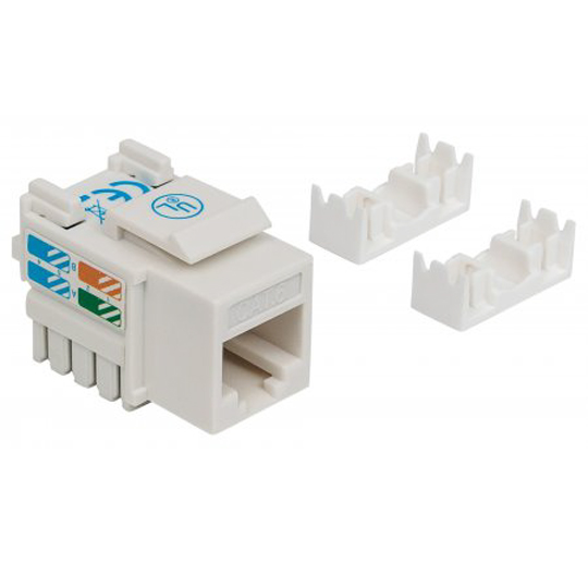JACK CAT 6 INTELLINET 210591 INTERFAZ RJ45 COLOR BLANCO