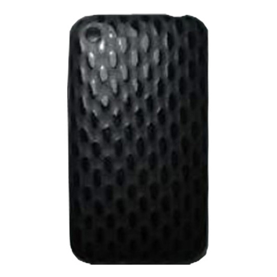 FUNDA PARA IPHONE 3 KEY MEDIA CE007 DE PLASTICO COLOR NEGRO