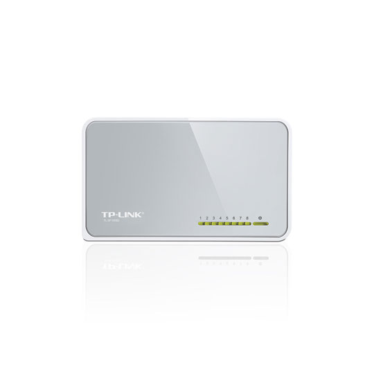 SWITCH NO ADMINISTRABLE TP-LINK TL-SF1008D 8 PUERTOS