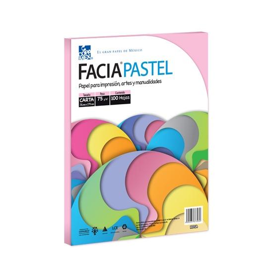 Hojas FaciaBond color cerezarosa pastel COPAMEX