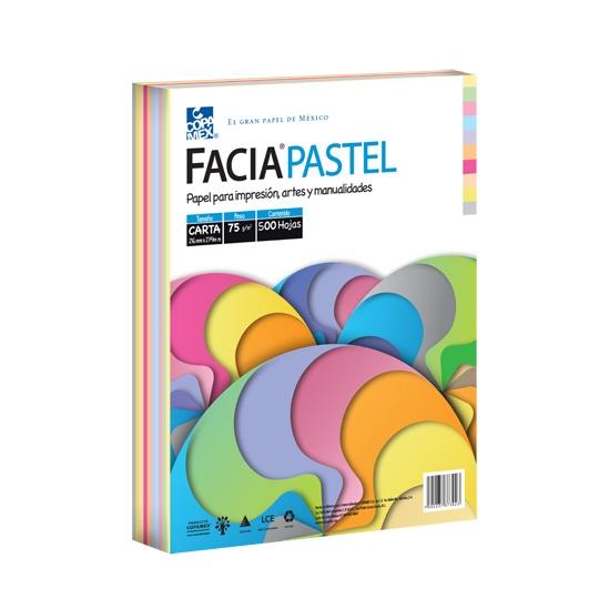 Hojas FaciaPastel de varios colores COPAMEX