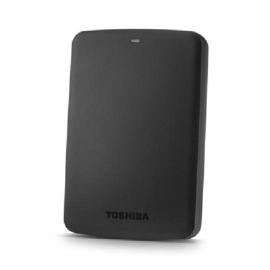 DISCO DURO EXTERNO TOSHIBA CANVIO BASICS PORTÁTIL 2TB USB 3.0 5400RPM NEGRO