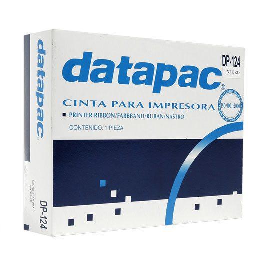CINTA COLOR NEGRO DATAPAC DP-124 PARA AP200/SP200/212FC/FD/SP216 1 PIEZA