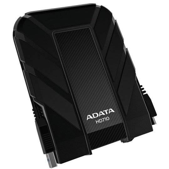DISCO DURO EXTERNO HD710 ADATA DE 2 TB COLOR NEGRO