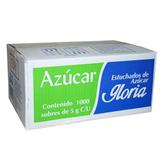 AZUCAR REFINADA GLORIA CONTENIDO NETO 1000 SOBRES