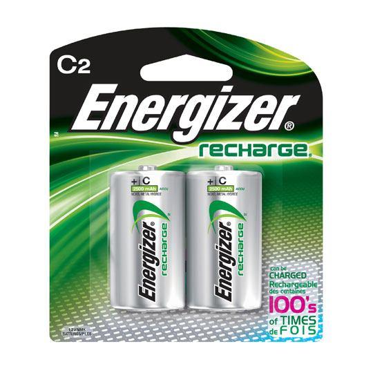 PILA RECARGABLE ENERGIZER C CON 2 PIEZAS