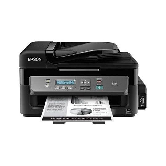 MULTIFUNCIONAL EPSON WORKFORCE M205 INYECCION DE TINTA BLANCO Y NEGRO