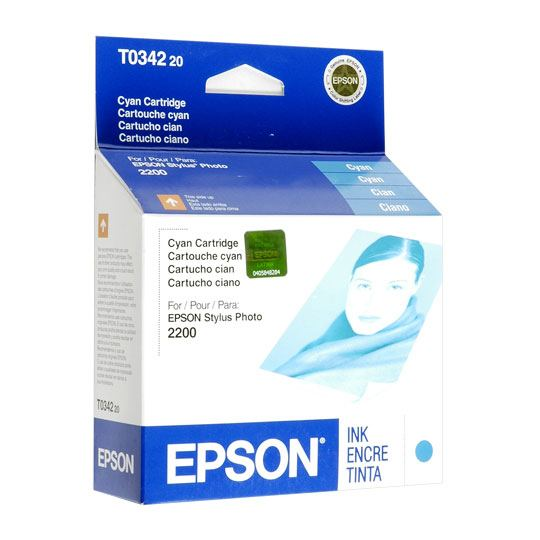 TINTA EPSON T034220 T034220 COLOR CYAN