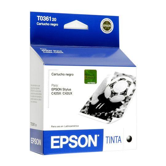 TINTA EPSON T036120 T036120 COLOR NEGRO