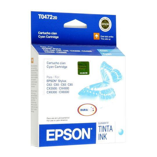 TINTA EPSON T047220 COLOR CYAN