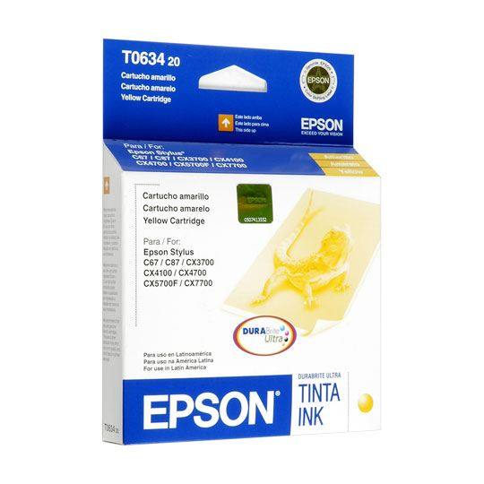 TINTA EPSON T063420 T063420-AL COLOR AMARILLO