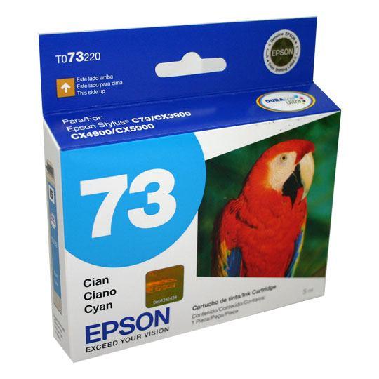 TINTA EPSON 73 COLOR CYAN T073220-AL