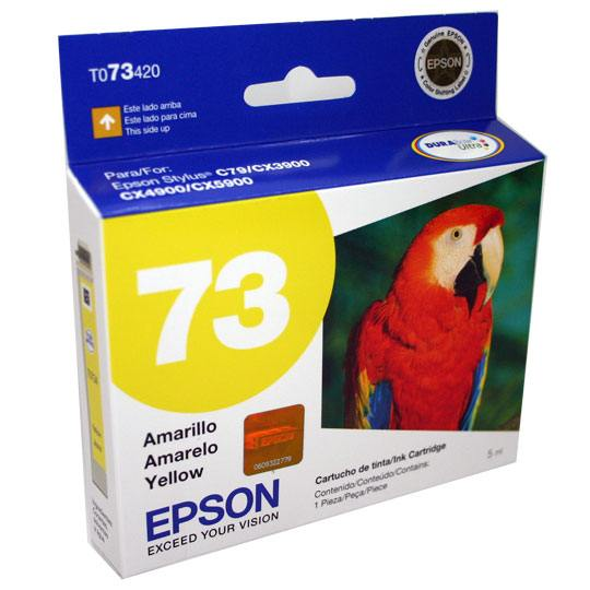 TINTA EPSON 73 COLOR AMARILLO T073420-AL