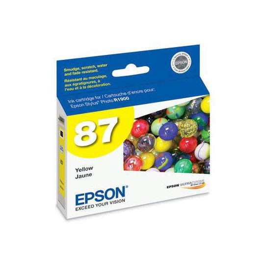 TINTA EPSON T087420 87 COLOR AMARILLO