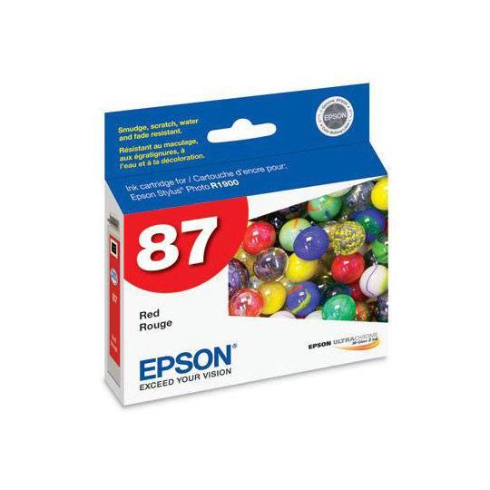 TINTA EPSON 87 COLOR ROJO T087720