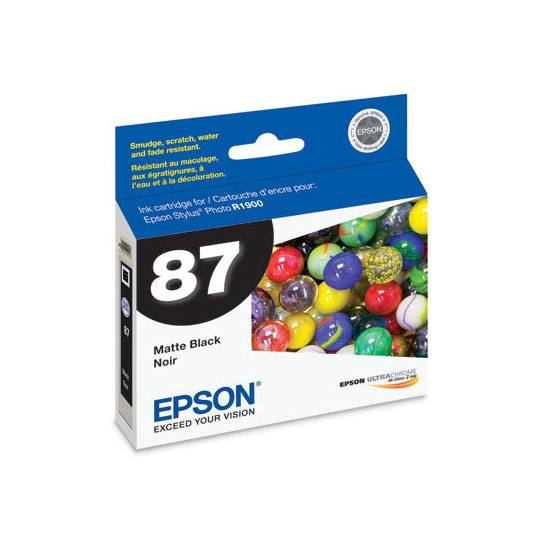 TINTA EPSON 87 T087820 COLOR NEGRO