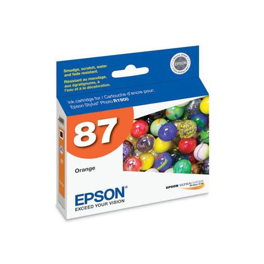 TINTA EPSON 87 COLOR NARANJA T087920