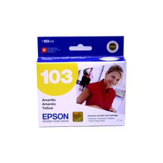 TINTA EPSON 103 COLOR AMARILLO T103420-AL