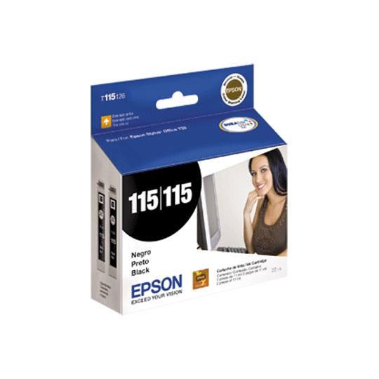 TINTA EPSON 115 COLOR NEGRO T115126-AL