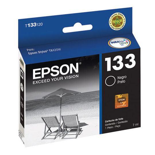 TINTA EPSON 133 COLOR NEGRO T133120-AL