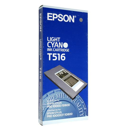 TINTA EPSON T516 T516201 COLOR CYAN LIGHT