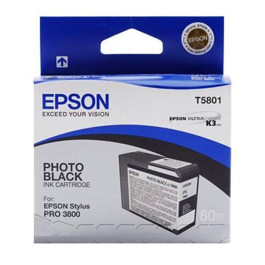 TINTA EPSON T580100 T580100 COLOR NEGRO